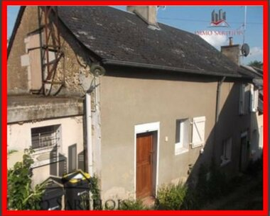 Vente Maison 3 pièces 65m² Vouvray-sur-Loir (72500) - photo