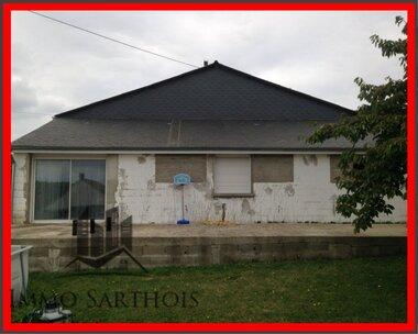 Vente Maison 5 pièces 161m² yvre le polin - photo