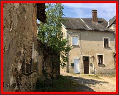 Vente Maison 3 pièces 73m² Mansigné (72510) - photo