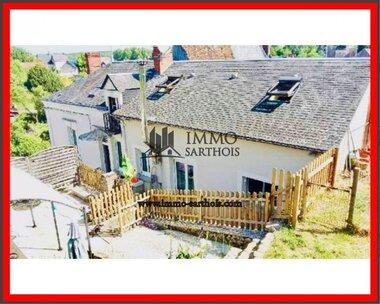Vente Maison 5 pièces 123m² Château-du-Loir (72500) - photo