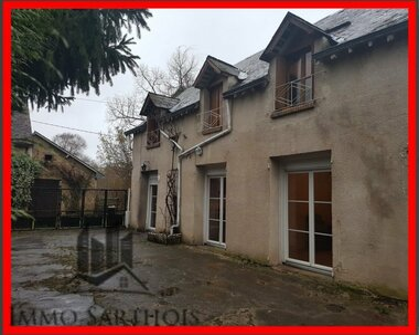 Vente Maison 5 pièces 93m² Aubigné-Racan (72800) - photo