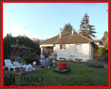 Vente Maison 5 pièces 90m² Montabon (72500) - photo