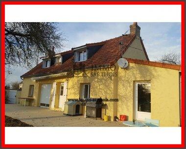 Vente Maison 5 pièces 138m² Mayet (72360) - photo