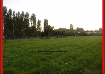 Vente Terrain 2 100m² Pontvallain (72510) - photo