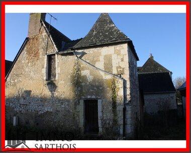 Vente Maison 3 pièces 110m² Verneil-le-Chétif (72360) - photo