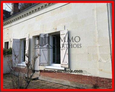 Vente Maison 4 pièces 92m² La Chartre-sur-le-Loir (72340) - photo