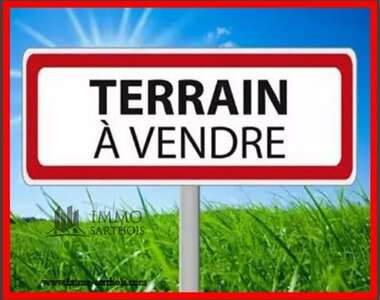 Vente Terrain 1 800m² Requeil (72510) - photo