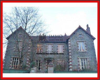 Vente Maison 10 pièces 155m² Mansigné (72510) - photo
