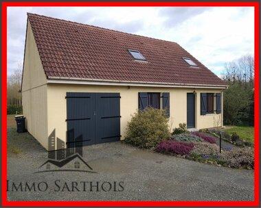 Vente Maison 5 pièces 78m² Pontvallain (72510) - photo