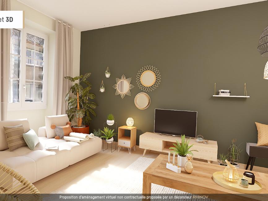 vente appartement 4 pi ces pau 64000 413396. Black Bedroom Furniture Sets. Home Design Ideas
