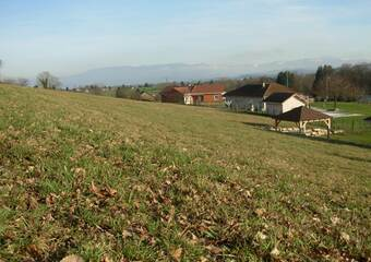 Vente Terrain 1 500m² Saint-Didier-de-la-Tour (38110) - photo