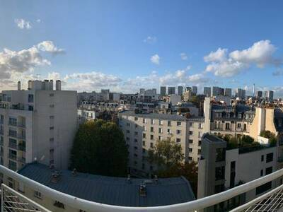 Vente Appartement 3 pièces 58m² Paris 15 (75015) - photo