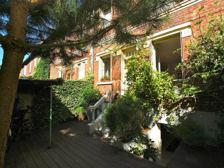 Vente maison 4 pi ces asni res sur seine 92600 272304 - Amenagement jardin en pente asnieres sur seine ...
