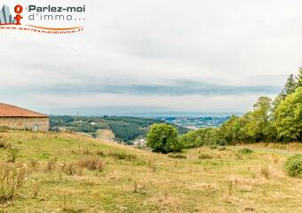Vente Terrain 843m² Thizy (69240) - photo