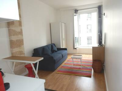 Location Appartement 1 pièce 21m² Paris 01 (75001) - photo