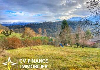 Vente Terrain 455m² Saint-Étienne-de-Crossey (38960) - photo