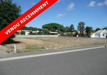 Vente Terrain 874m² Talmont-Saint-Hilaire (85440) - photo