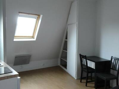 Location Appartement 1 pièce 12m² Paris 17 (75017) - photo