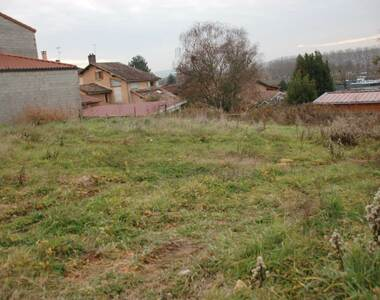 Vente Terrain 500m² Jassans-Riottier (01480) - photo