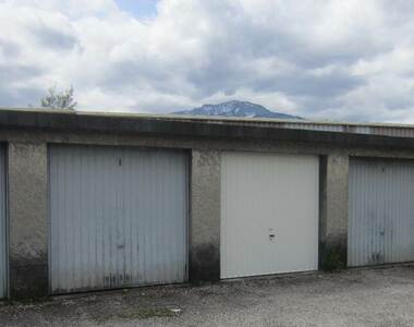 Location Garage 15m² Saint-Martin-d'Hères (38400) - photo