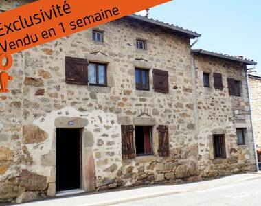 Vente Maison 3 pièces 75m² Apinac (42550) - photo
