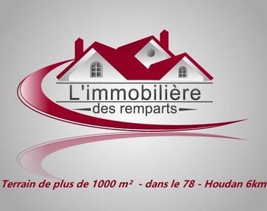 Vente Terrain 1 000m² Houdan (78550) - photo