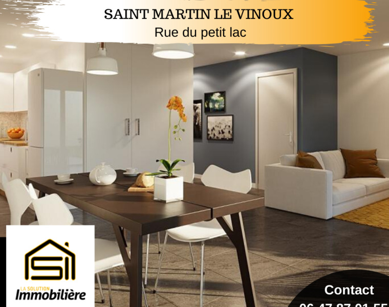 Vente Appartement 3 pièces 67m² Saint-Martin-le-Vinoux (38950) - photo