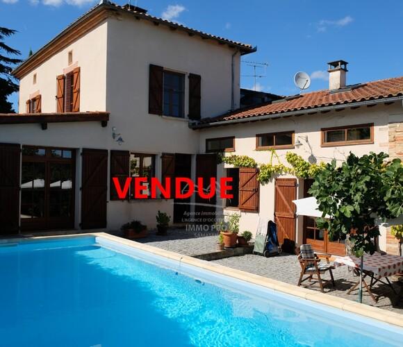 Vente Maison 6 pièces 153m² L'Isle-en-Dodon (31230) - photo