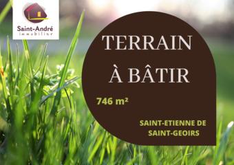 Vente Terrain 746m² Saint-Étienne-de-Saint-Geoirs (38590) - photo