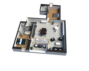 Vente Appartement 3 pièces 68m² Fillinges (74250) - photo