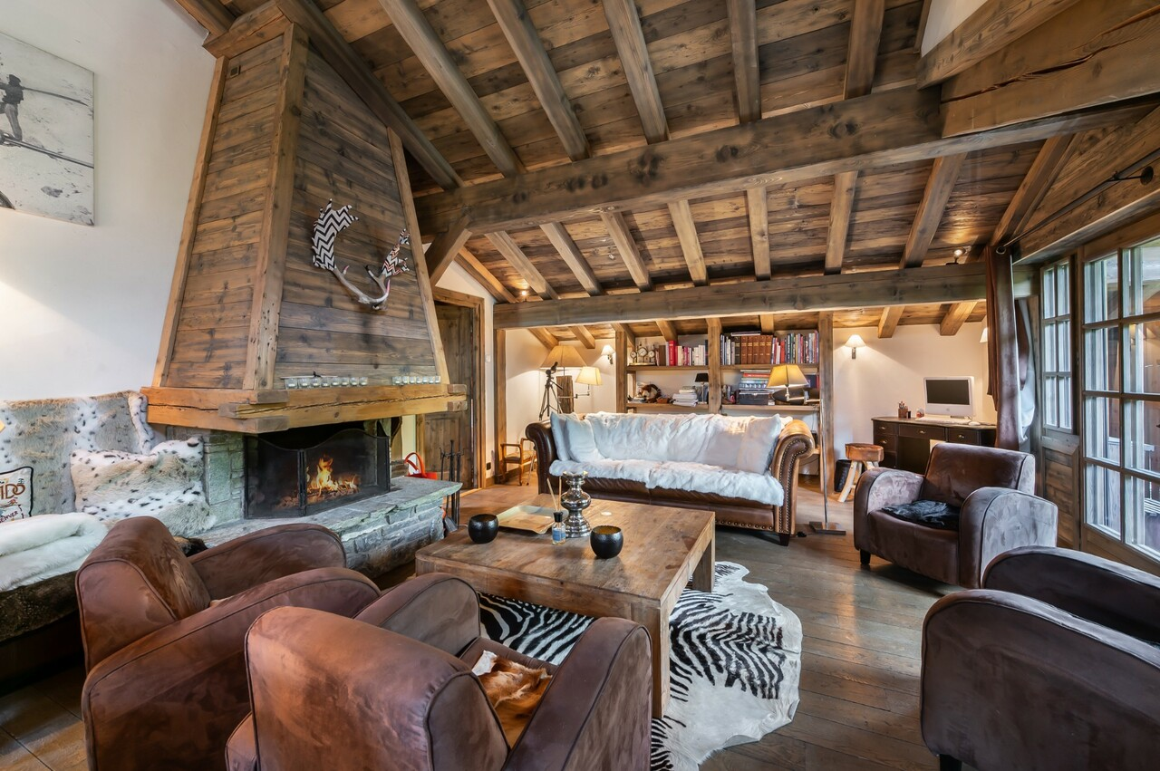 NICE VIEW FOR THIS COSY FAMILY CHALET Chalet in Megeve