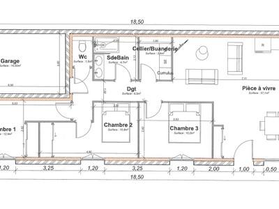 Vente Maison 4 pièces 87m² La Talaudière (42350) - photo