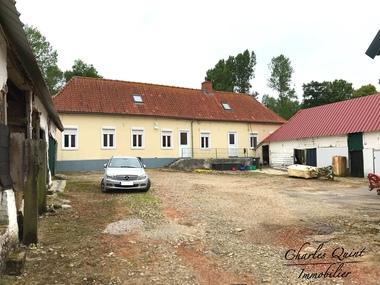 Vente Maison 9 pièces 125m² Beaurainville (62990) - photo