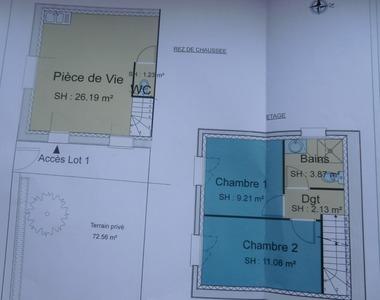 Vente Maison 3 pièces 54m² Aoste (38490) - photo
