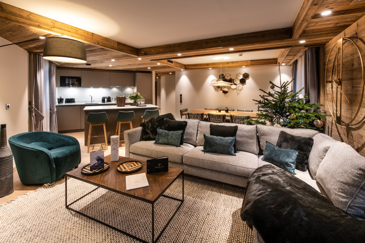 BEAUTIFUL LUXURY APARTMENT Chalet in Courchevel