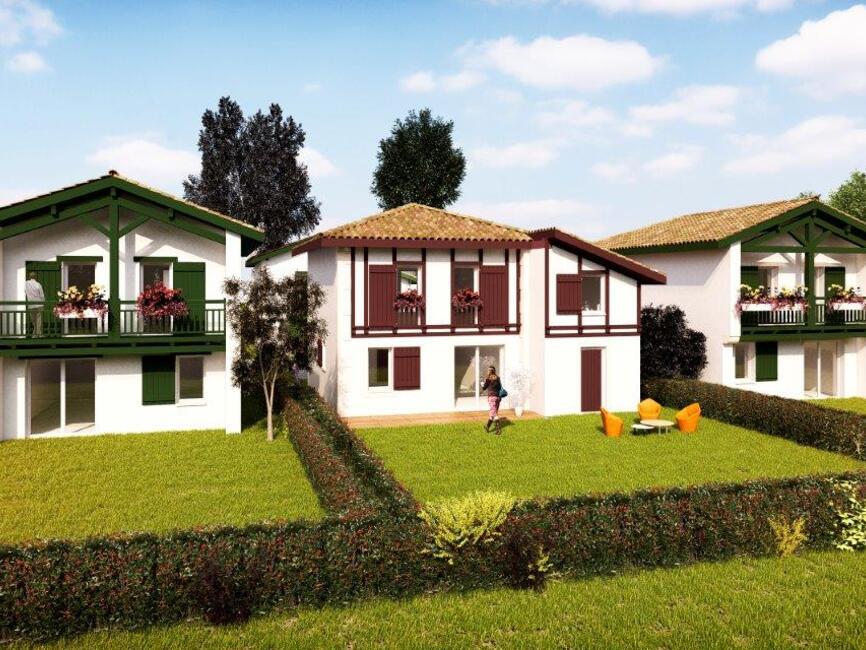 Programme neuf 10 Villas Proche Bayonne Ustaritz (64480)