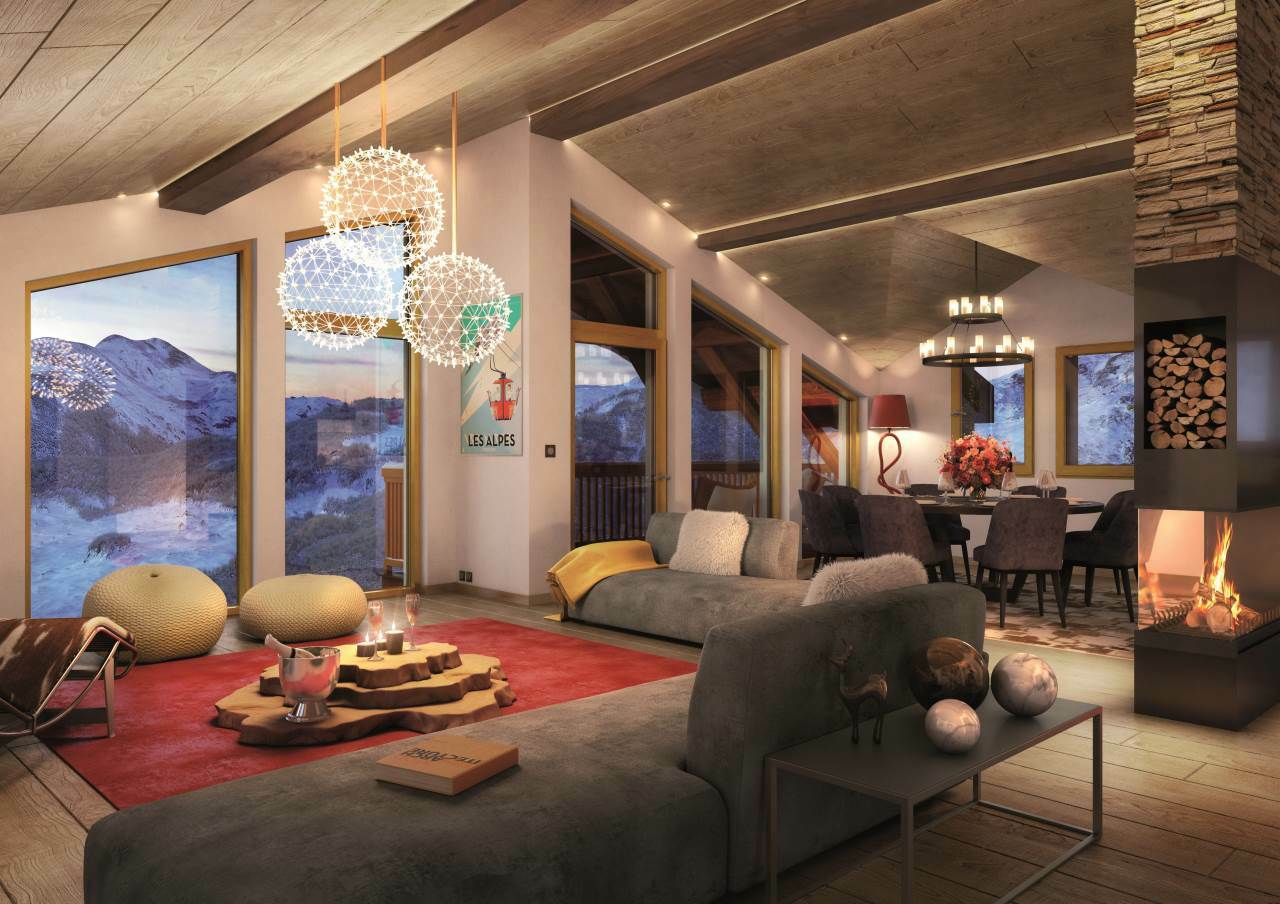 SUPERB NEW CHALET Chalet in Courchevel