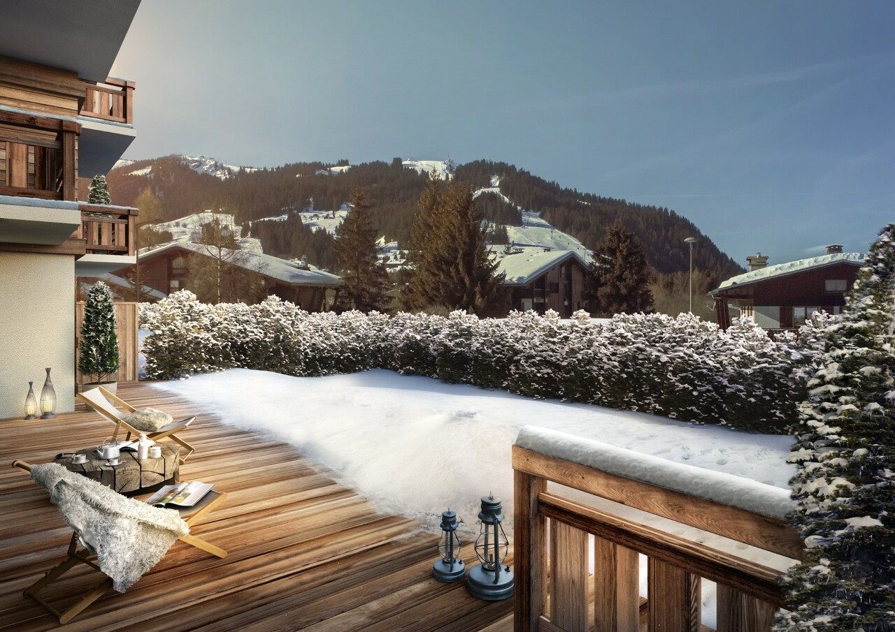 BRAND NEW APARTMENT WITH GARDEN Accommodation in Megeve