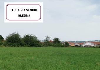Vente Terrain 574m² Brézins (38590) - Photo 1