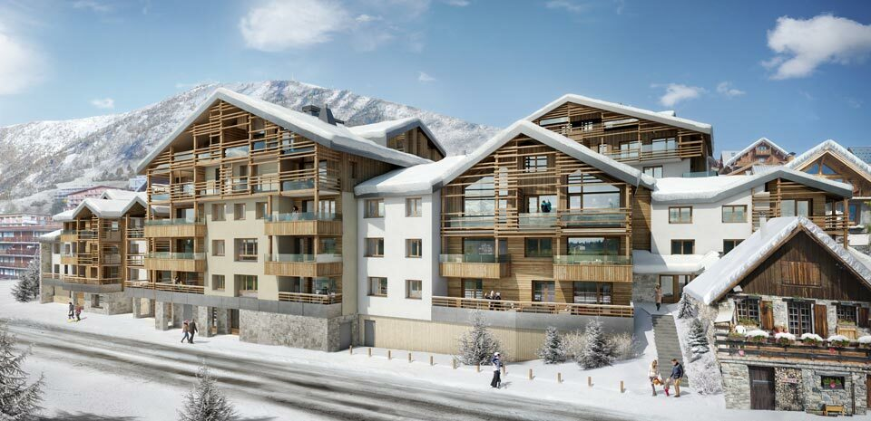 VERY NICE 5 BEDROOMS DUPLEX APARTMENT IN THE NEW PROGRAM LES FERMES DE L'ALPE Accommodation in Alpe d'Huez
