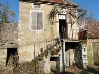 Vente Maison 2 pièces 50m² Marcilly-lès-Buxy (71390) - photo