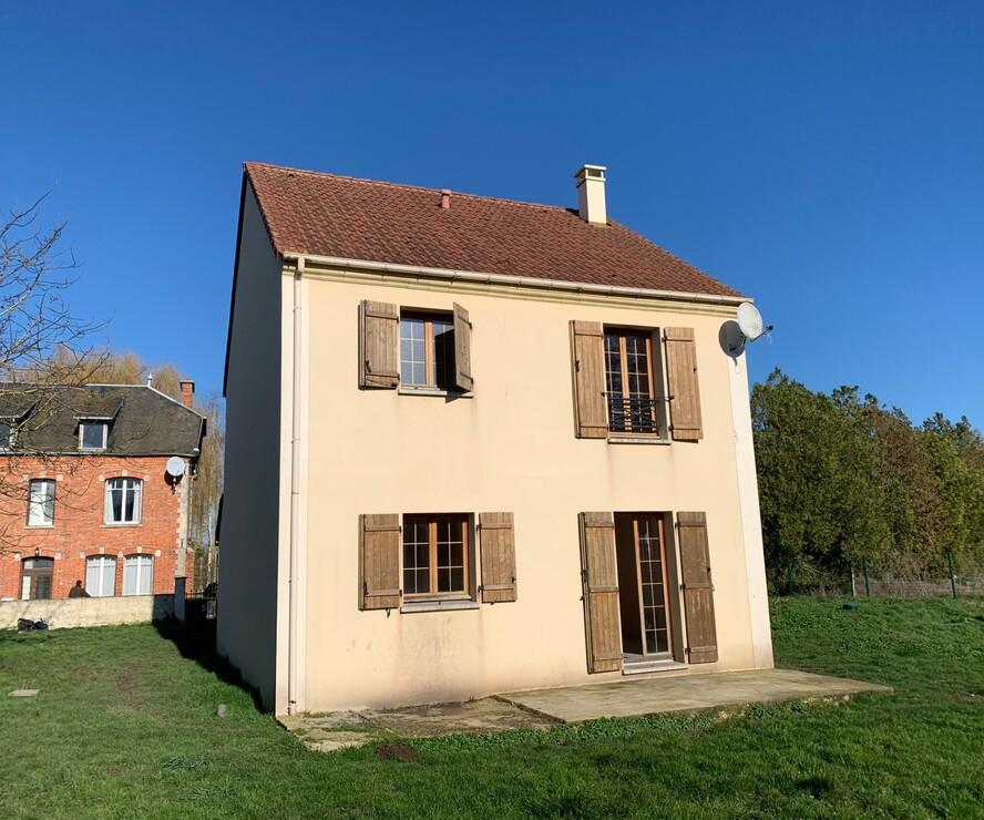 Location Maison 4 pièces 95m² Saint-Aubin (02300) - photo