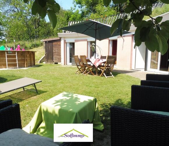 Vente Maison 4 pièces 92m² Les Abrets (38490) - photo
