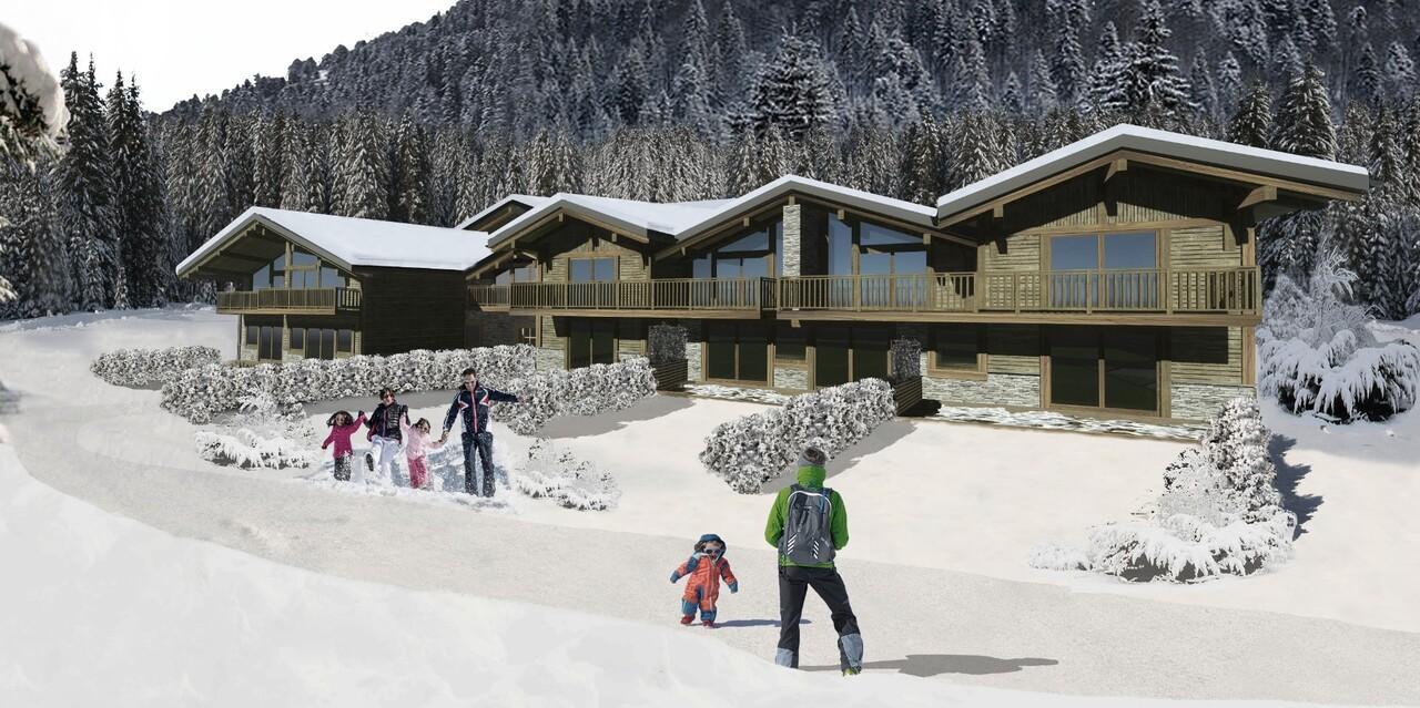 NICE DUPLEX WITH MEZZANINE Accommodation in Chamonix
