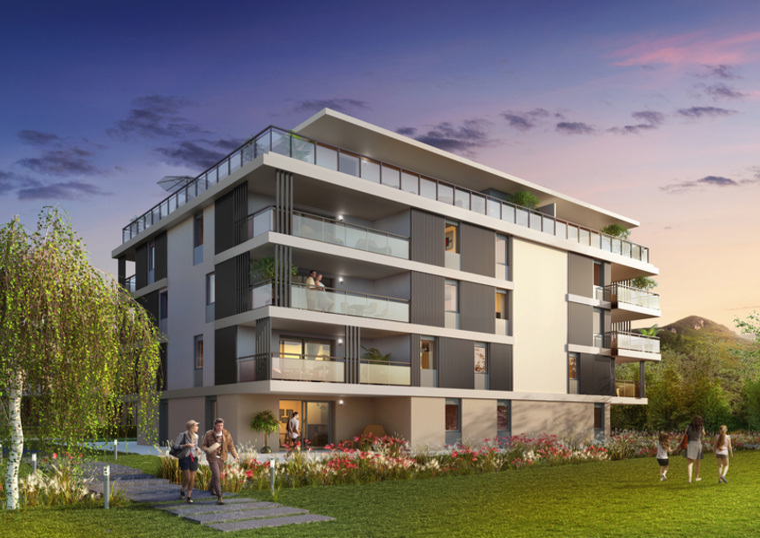 Vente Appartement 3 pièces 67m² Saint-Jorioz (74410) - photo