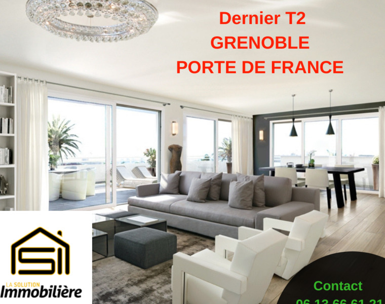 Sale Apartment 2 rooms 52m² Grenoble (38100) - photo