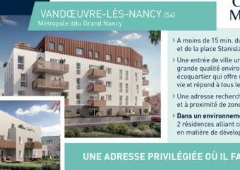 Vente Appartement 2 pièces 40m² Vandœuvre-lès-Nancy (54500) - Photo 1