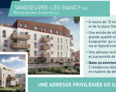 Vente Appartement 1 pièce 30m² Vandœuvre-lès-Nancy (54500) - photo