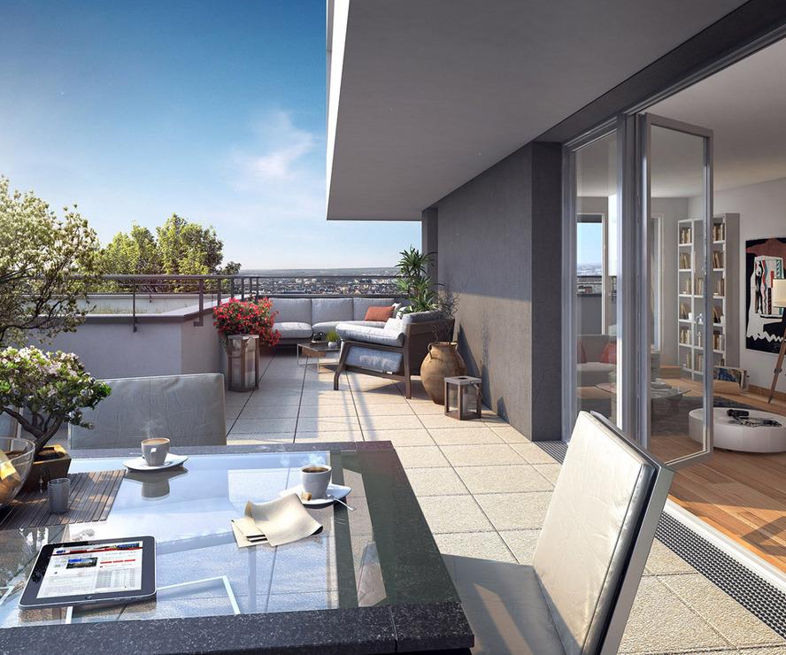 Vente Appartement 5 pièces 94m² Crolles (38920) - photo