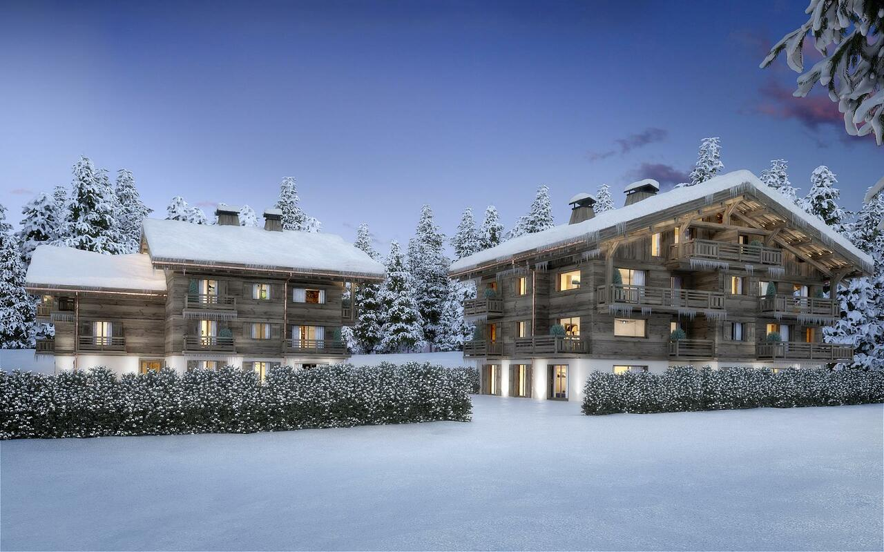 BRAND NEW APARTMENT WITH GARDEN Chalet in Megeve